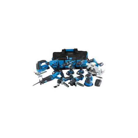 Storm Force® 20V 9 Machine Cordless Kit (14 Piece) (17763)