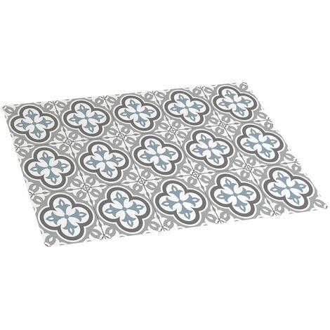 Storplanet tapis vinyle PVC Recyclable Croma hidra en taupe 45 x 75 cm
