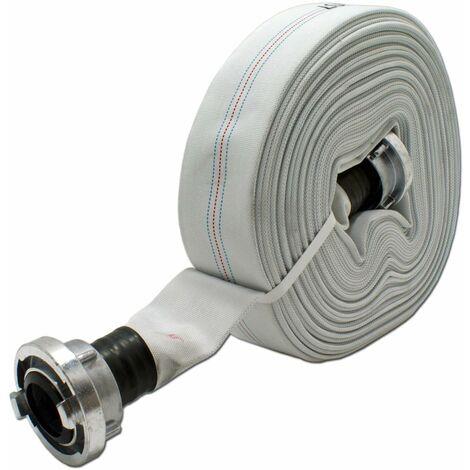 Storz D-Bauschlauch 25mm 1 Zoll 20m D-Schlauch Feuerwehrschlauch Flachschlauch