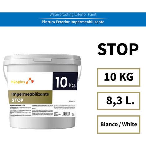 STP Pintura Impermeabilizante Terrazas Transitables · Blanca 10KG