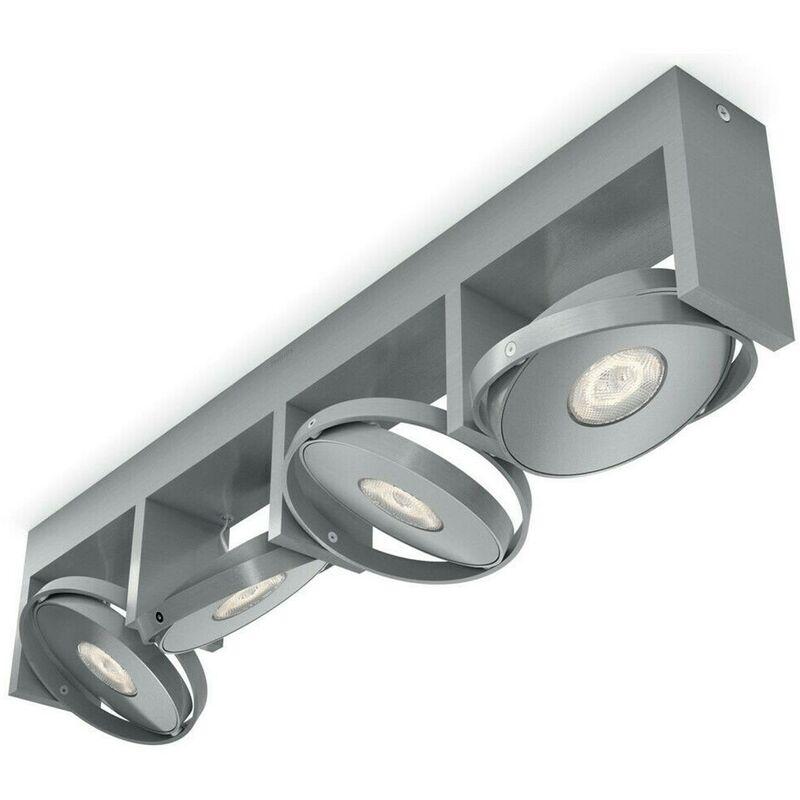 Strahler Philips Particon LED Aluminium 4er Spot Deckenlampe