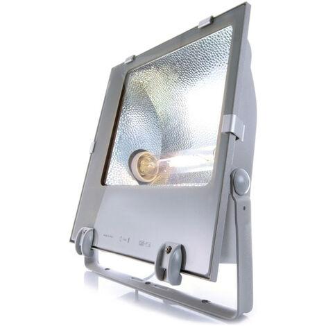 Strahler Tec in Silber Asymmetrisch E40 IP65 EEK A [Spektrum A++ bis E]