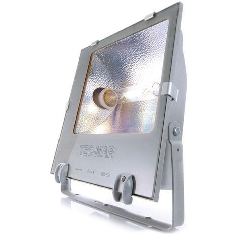 Strahler Tec in Silber Symmetrisch E40 IP65 EEK A [Spektrum A++ bis E]