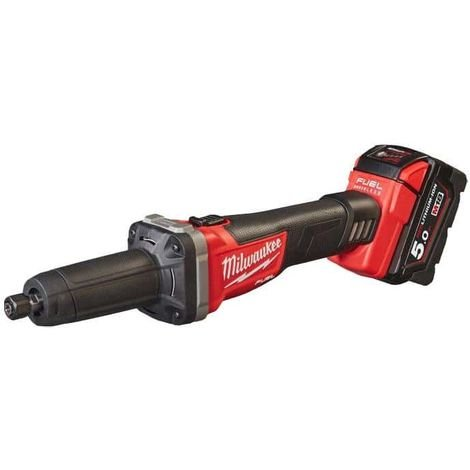 Straight grinder MILWAUKEE FUEL M18 FDG-502X - 2 battery 18V 5.0Ah - 1 charger M12-18FC 4933459107
