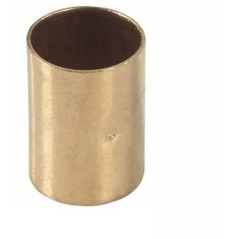 Straight Pipe Fitting Muff Copper Connector Solder 22x22mm Water Installation