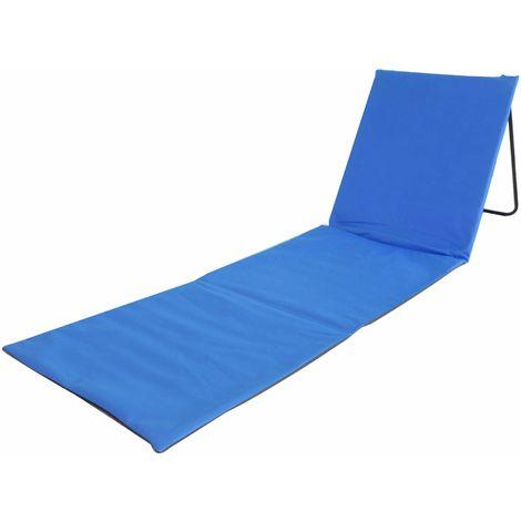 Blau Red Mountain Strandmatte mit R/ückenlehne