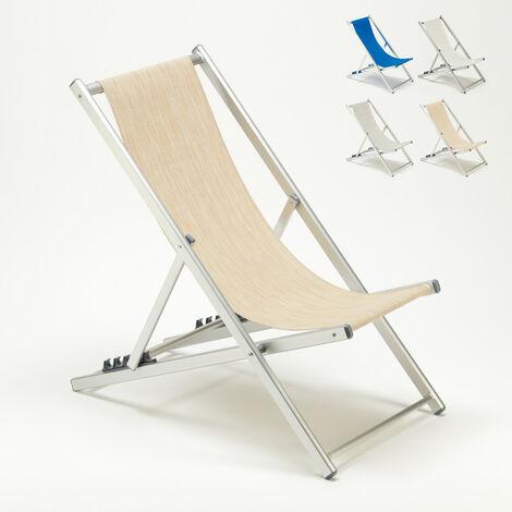Strandstuhl Meer Swimmingpool Aluminium Riccione