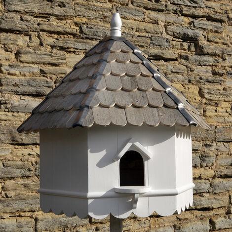 Stratford Dovecote Bird House - Hexagonal one tier Nest Box