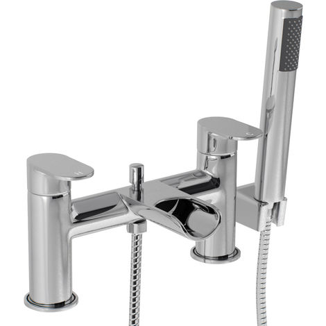Stream Waterfall Bath Shower Mixer Tap & Kit