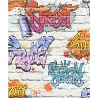 Street Style Multi Freestyle L17905 Muriva Wallpaper