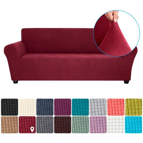 """main image of """"Stretch Sofa Slipcover Spandex Anti-Slip Soft Couch Sofa Cover 3 Seater Washable for Living Room Kids Pets"""""""