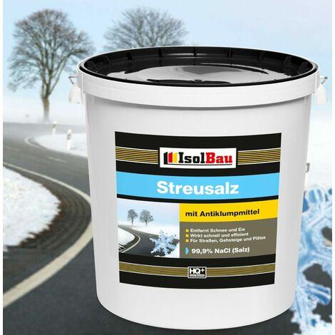 Streusalz 25 kg 99,9% Straßensalz Auftausalz Tausalz Salz Markenware HQ