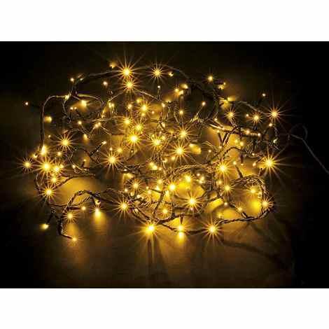 Albero Di Natale 7 Metri.Luci Per Albero Di Natale Gialle 7 Metri Con 180 Luci Per Interno Ed Esterno 53 12 82