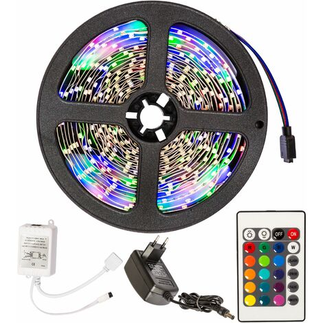 Strip light LED flexible 5m 300 LEDs - led strip, led under cabinet lighting, led kitchen lighting - white