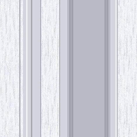 Stripe Wallpaper Striped Stripey Glitter Effect Vinyl Textured Synergy Dove Grey