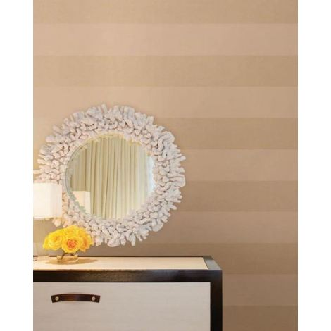 Stripe Wallpaper Striped Stripey Metallic Gold Washable Easy To Hang