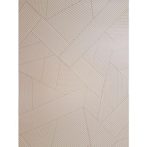 Striped Geometric Glitter Wallpaper Metallic Pink Rose Gold Crown Emporium Duke