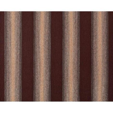 Striped paste the wall wallpaper XXL EDEM 931-36 hot embossed texture non-woven elegant block stripes brown beige gold glitter 10.65 m2