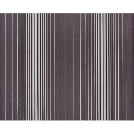 Striped paste the wall wallpaper XXL EDEM 934-39 hot embossed texture nonwoven metallic lustre grey dark grey silver 10.65 m2