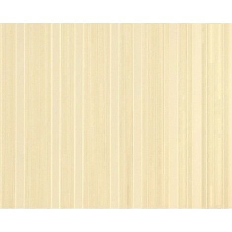 Striped paste the wall wallpaper XXL EDEM 994-32 hot embossed tactile texture non-woven brown beige caramel glitter 10.65 m2