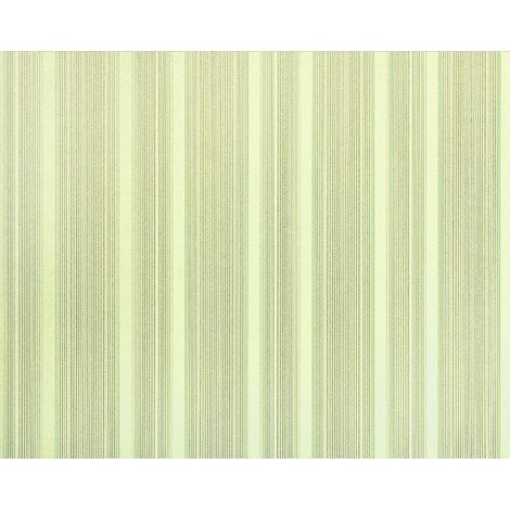 Striped paste the wall wallpaper XXL EDEM 994-38 hot embossed tactile texture non-woven light green off-white cream grey glitter 10.65 m2