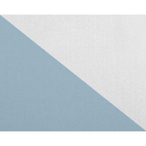 Striped wallcovering wall EDEM 83016BR60 paintable non-woven wallpaper textured matt white 26.50 m2 (285 ft2)
