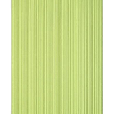 Stripes-wallpaper wall EDEM 557-11 blown vinyl wallpaper textured with a fabric look matt green yellow-green pastel-green 5.33 m2 (57 ft2)