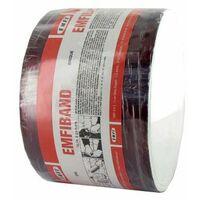 Striscia adesiva sigillante a freddo rosso mattone EMFI 10 centimetri x 10m