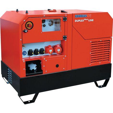 Stromerzeuger ESE 1408 DLG ES DI ISO DUPLEX Silent 14 kVA,11,2 kW Diesel PRAMAC