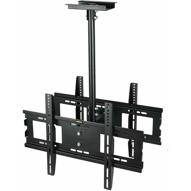 Strong Double Sided TV Wall Mount Bracket Ceiling Tilt Swivel 32 42 50 60 65 in
