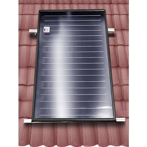 Structure de montage sur tuiles pour panneau solaire thermique plat horizontal série FKF et EFMAX