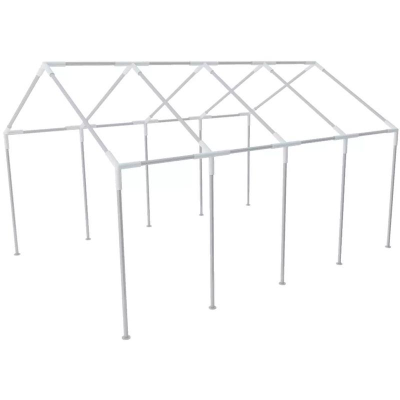 Asupermall - Structure de tente chapiteau pavillon jardin 8 x 4 m