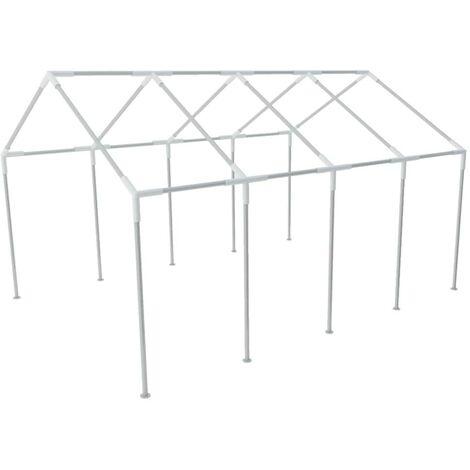 Structure de tente chapiteau pavillon jardin 8 x 4 m HDV26120