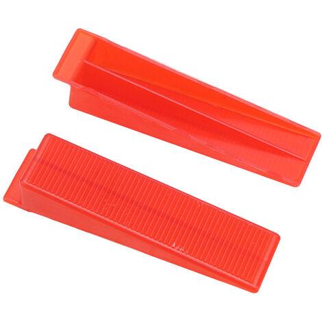 Strumento di livellamento per piastrelle Cuneo riutilizzabile di tipo universale, rosso
