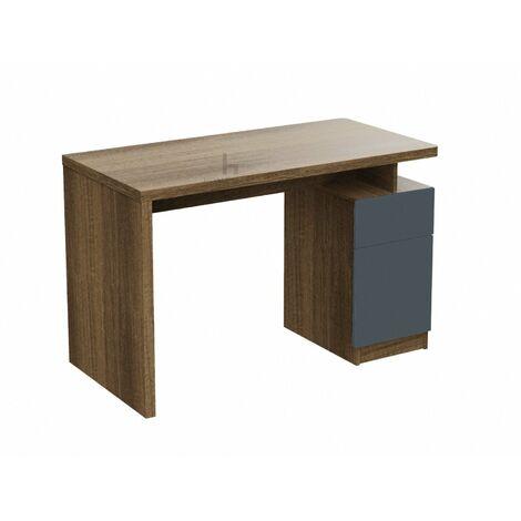 "main image of ""Stuart Natural Oak and Grey Office Desk"""