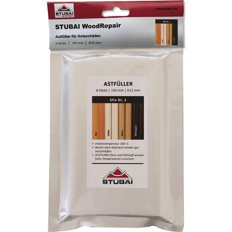 STUBAI WoodRepair 150 mm, 8 Sticks Mix Pack 1