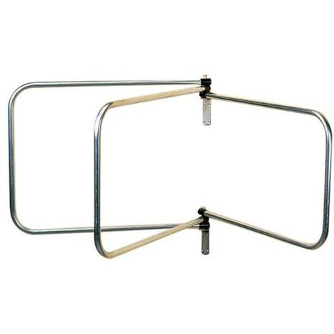 Stubbs Rug Rack (One Size) (Silver)