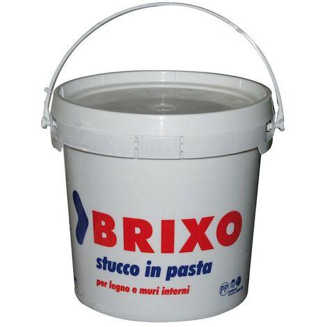 Stucco In Pasta Kg 5 Colore Bianco Speciale Per Legno Muri Uso Interno
