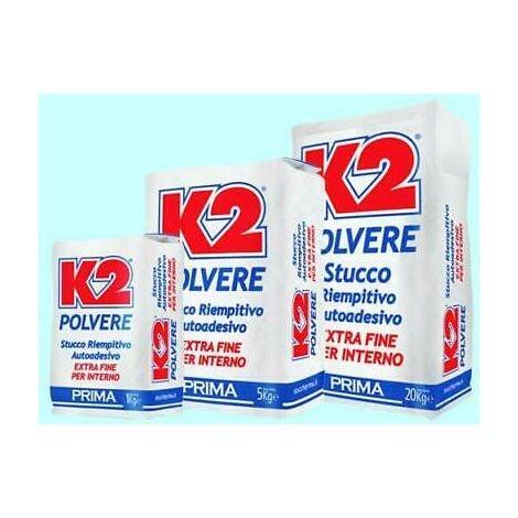 "main image of ""STUCCO IN POLVERE K2 DA 5KG O 20KG PER INTERNO"""