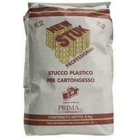 Stucco Plastico in Polvere per Cartongesso New Stuk 5 Kg Uso professionale