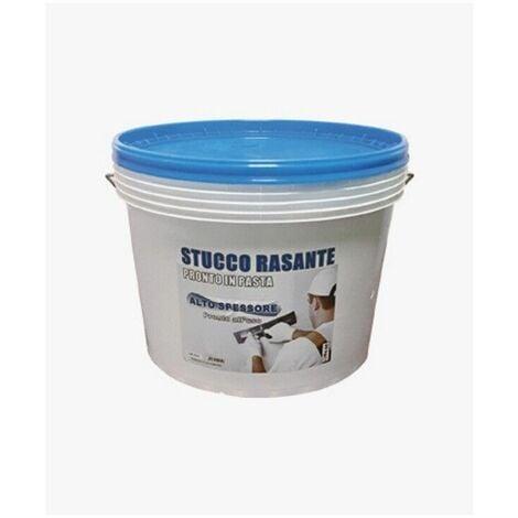 Stucco rasante in pasta di maria alto spessore per muro pronto all'uso kg 20