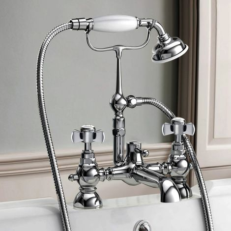 Studio Bathroom Traditional Bath Shower Mixer & Handset