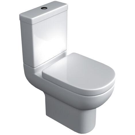 Studio Close Coupled Toilet & Soft Close Seat