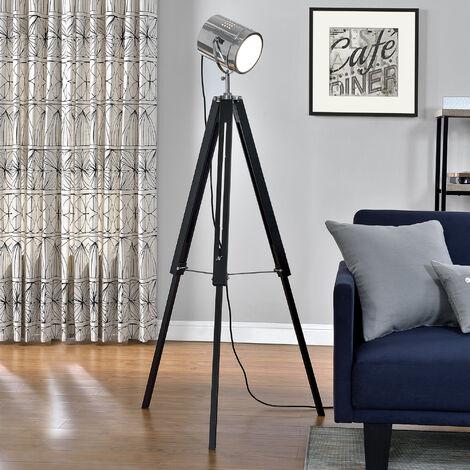 Studio - Stehleuchte [140 cm] Retro Studio Stehlampe Standleuchte