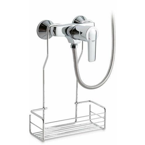 STUDY-TRES - 26218099 - Kit de ducha monomando empotrado con cierre y regulación de caudal.