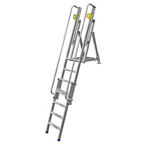 Stufenabstieg mit Plattformfür den Zugang zu Gräben (in verschiedenen Größen erhältlich)