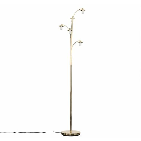 Style 5 Way Gold Floor Lamp Base