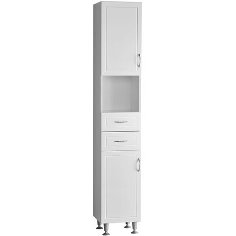 Stylish Furniture Floor Standing High Gloss Cabinet With White Finish