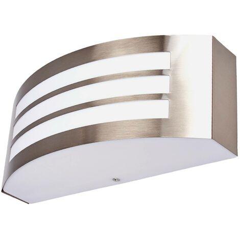 Stylish outdoor wall light Raja, striped pattern