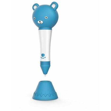 Stylo d'impression 3D avec d'impression PLA , jouet créatif pour enfant/adulte (BLEU)